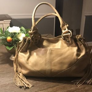 Francesco Biasia Tan Bag